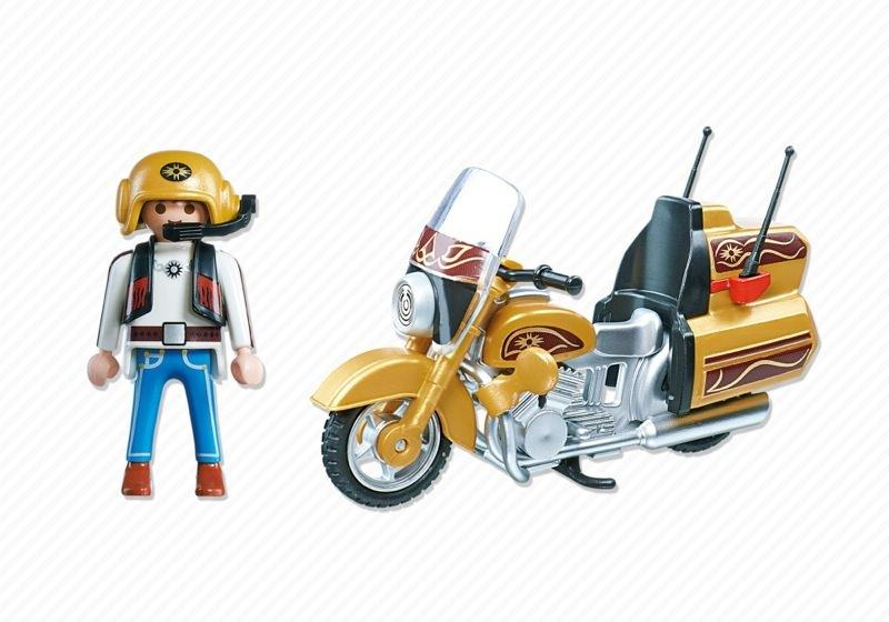 Playmobil 5523 - Street Tourer - Back
