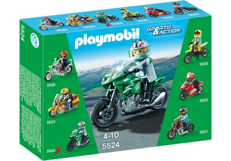 Playmobil 5524 - Sports Bike - Box