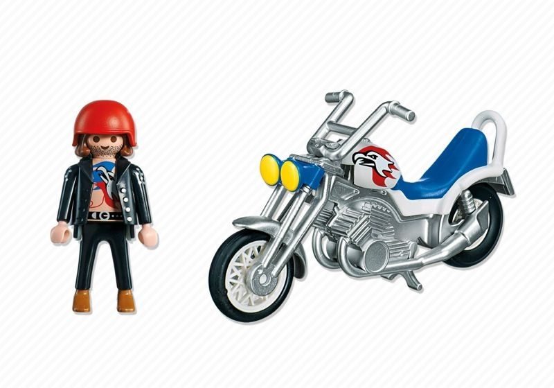 Playmobil 5526 - Eagle Cruiser - Back