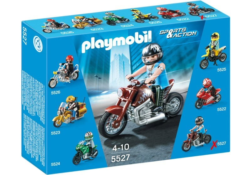 Playmobil 5527 - Muscle Bike - Box