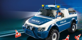 Playmobil - 5528 - RC-Polizeiauto mit Kamera-Set