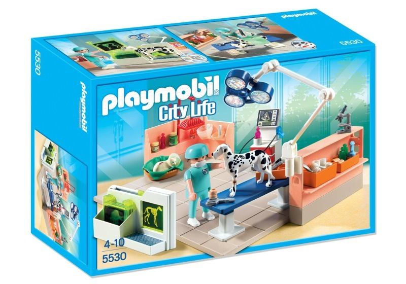 Playmobil 5530 - Pet Examination Room - Box