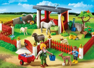 Playmobil - 5531 - Animal care station with stable