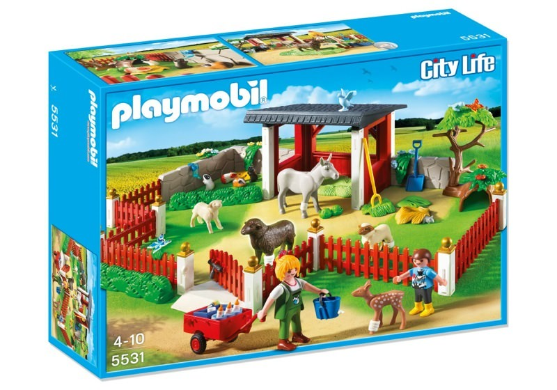 Playmobil 5531 - Animal care station with stable - Box