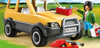 Playmobil - 5532 - Vet with car
