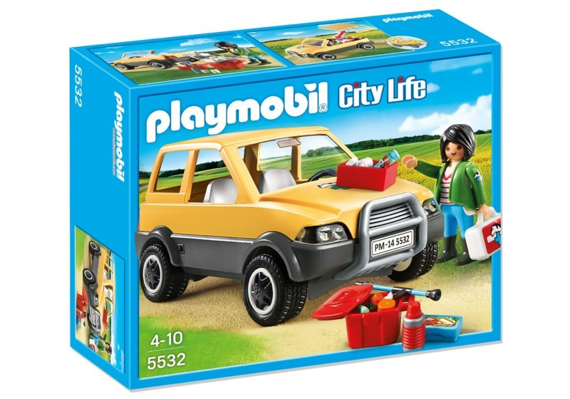 Playmobil 5532 - Vet with car - Box