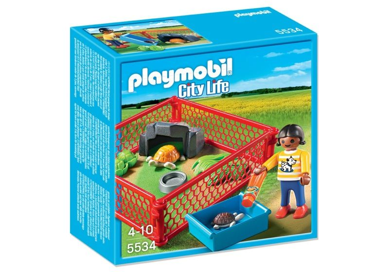 Playmobil 5534 - Turtlebuilding - Box