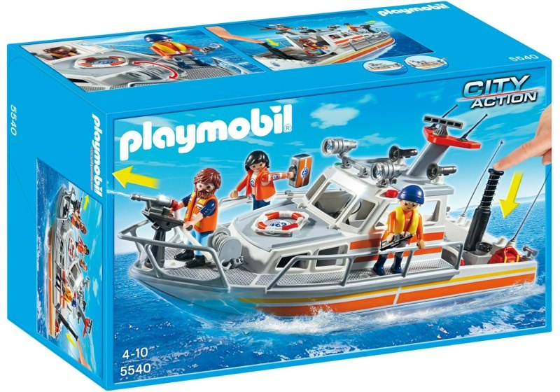 Playmobil 5540 - Rescue boat - Box