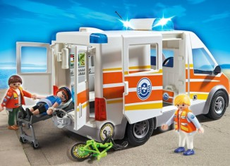 Playmobil - 5541 - Ambulance with light and sound