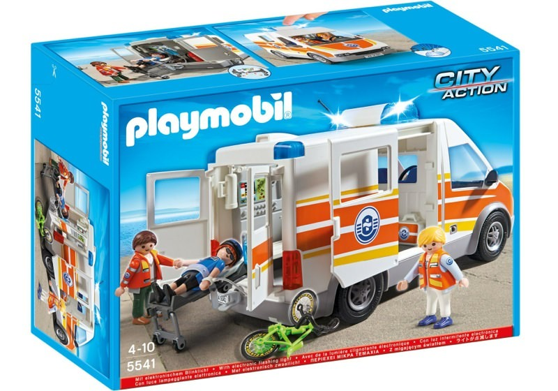 Playmobil 5541 - Ambulance with light and sound - Box