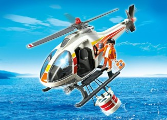 Playmobil - 5542 - Fire Fighting Helicopter