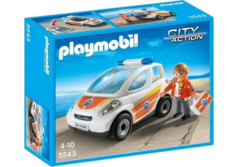 Playmobil 5543 - Emergency vehicle - Caja