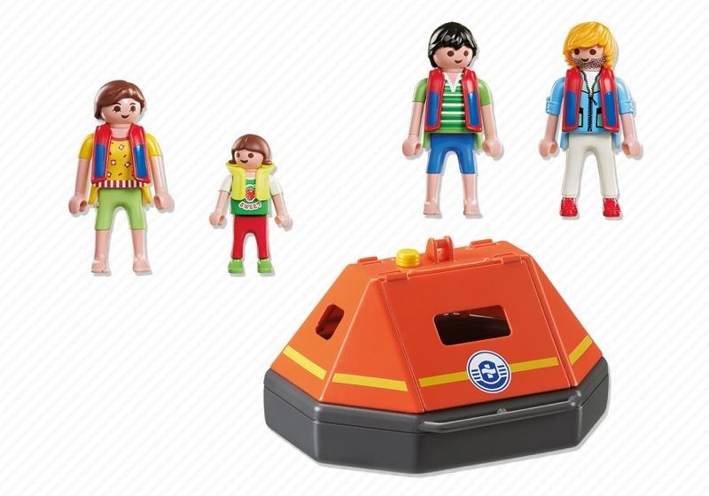 Playmobil 5545 - Liferaft - Précédent