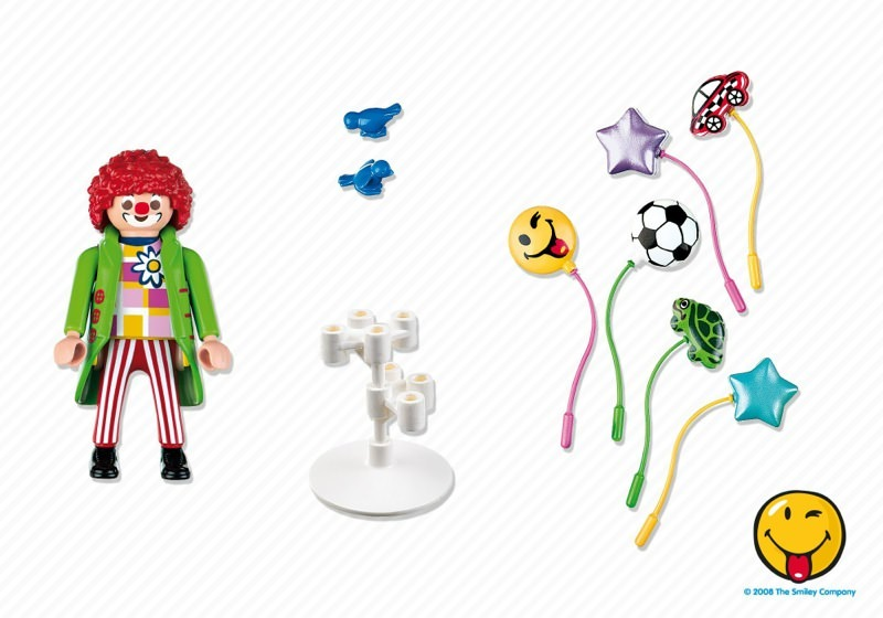 Playmobil 5546 - Smileyworld© Balloon Sellers - Back