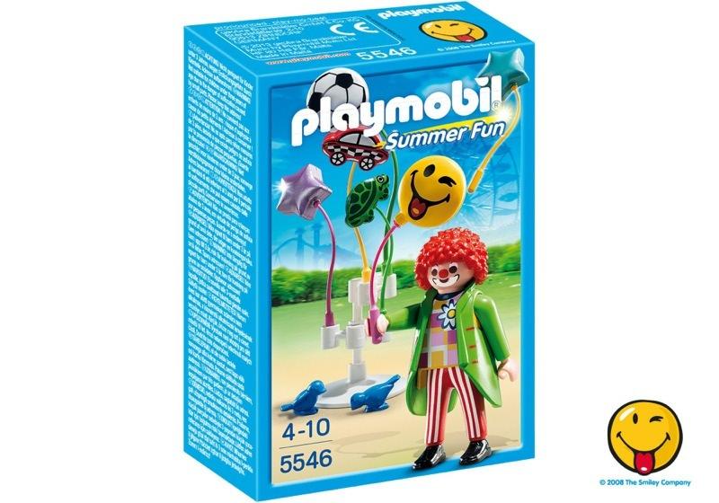 Playmobil 5546 - Smileyworld© Balloon Sellers - Box
