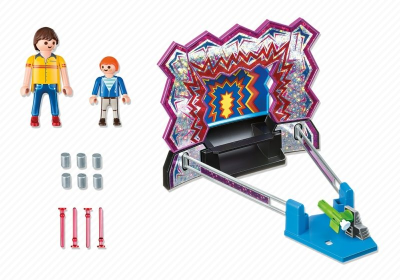 Playmobil 5547 - Dosen-Schießbude - Back