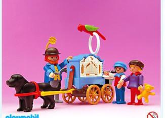 Playmobil - 5550 - Organ Grinder With Children