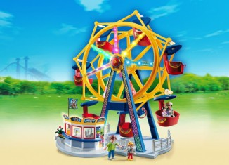 Playmobil - 5552 - Ferris Wheel with Colorful Lights