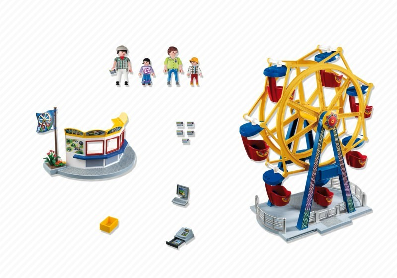 Playmobil 5552 - Ferris Wheel with Colorful Lights - Back