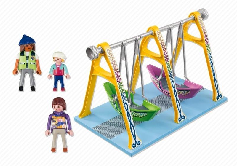 Playmobil 5553 - Schiffschaukel - Back