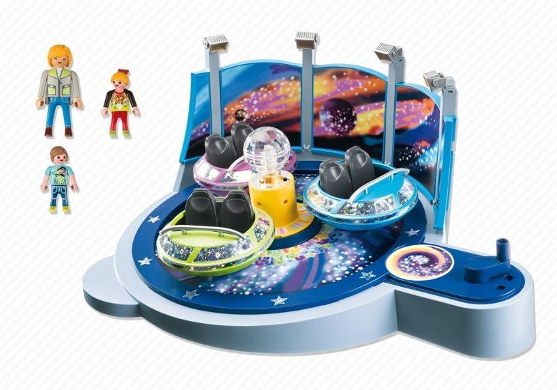 Playmobil 5554 - Breakdancer mit Lichteffekten - Back
