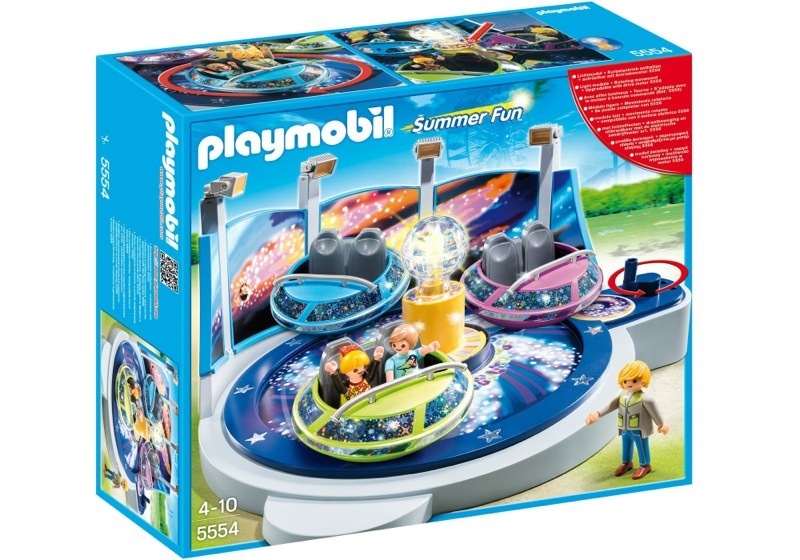 Playmobil 5554 - Breakdancer mit Lichteffekten - Box