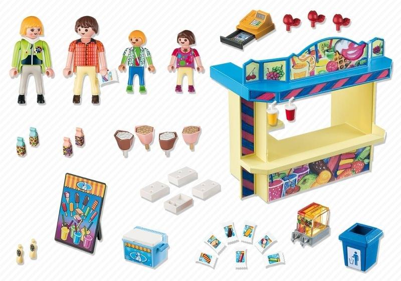 Playmobil 5555 - Sweet Shop - Back