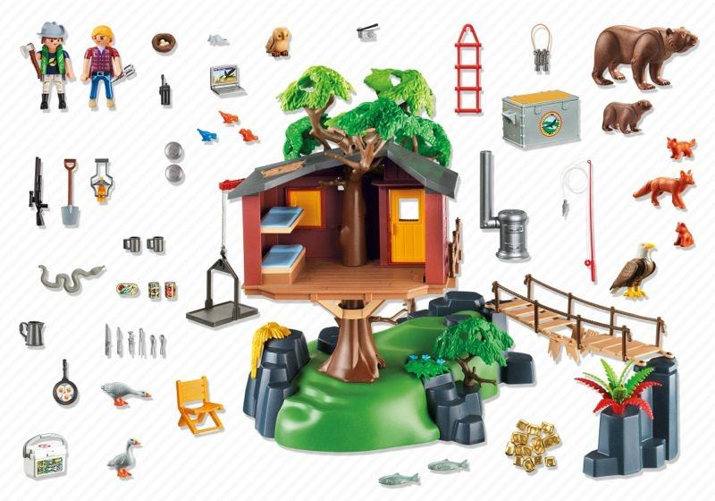 Playmobil set 5557 adventure tree house klickypedia for Casa del arbol playmobil carrefour