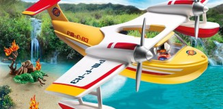 Playmobil - 5560 - Firefighting Seaplane
