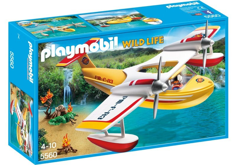 Playmobil 5560 - Firefighting Seaplane - Box