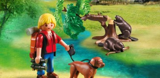 Playmobil - 5562 - Beavers with Backpacker