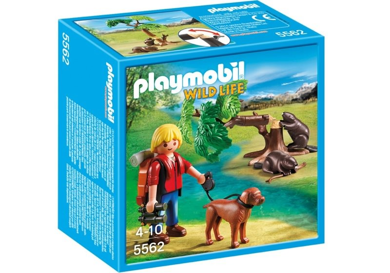 Playmobil 5562 - Beavers with Backpacker - Box