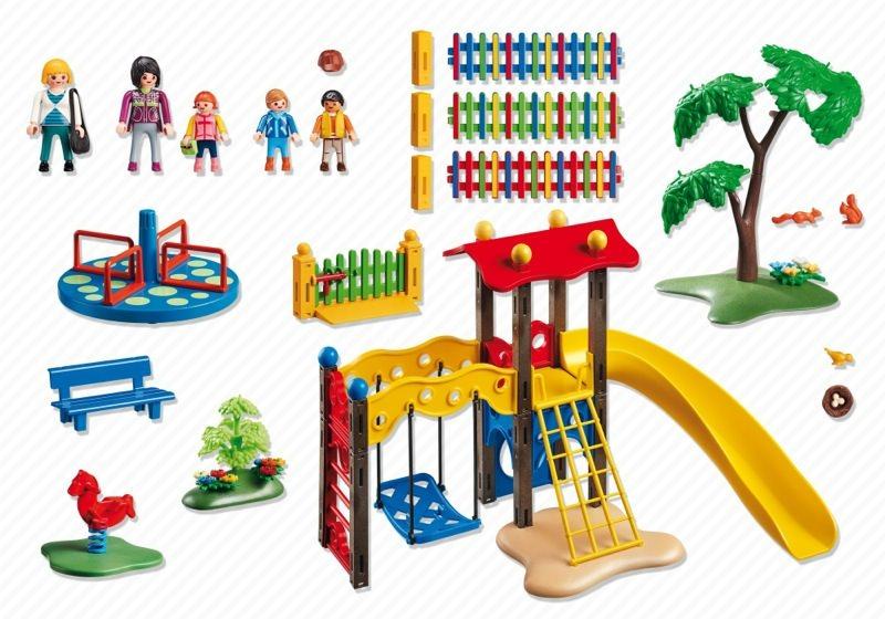 Playmobil 5568 - Children's Playground - Back