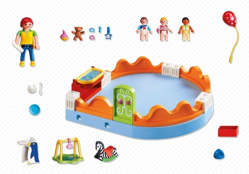 Playmobil 5570 - Playgroup - Back