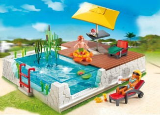 Playmobil - 5575 - Swimmingpool with Terrace
