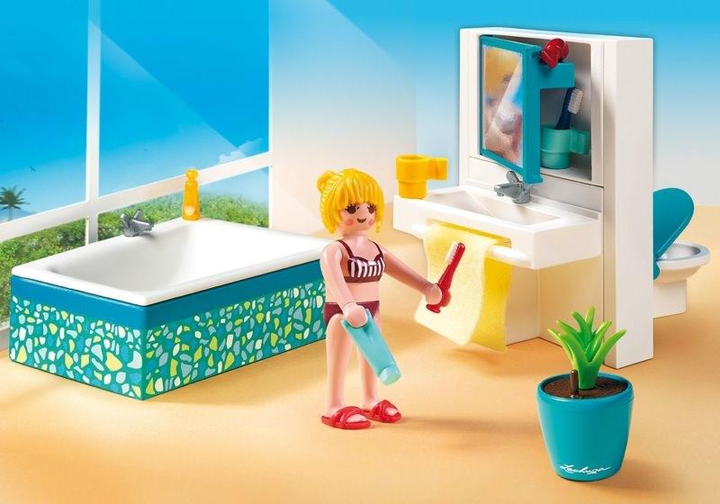Citylife Playmobil 5577 Modernes Badezimmer zur Luxusvilla