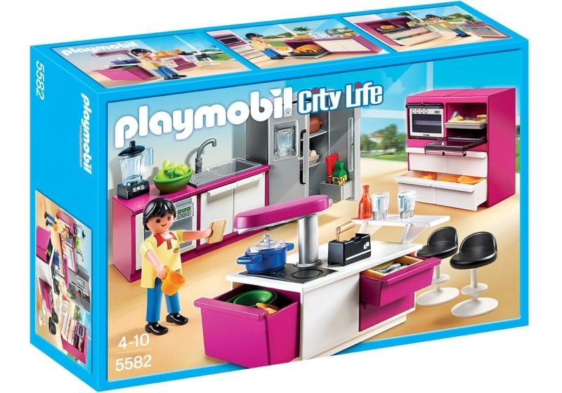 Playmobil 5582 - Modern Designer Kitchen - Box
