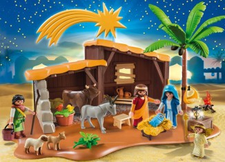 Playmobil - 5588 - Nativity Stable with Manger
