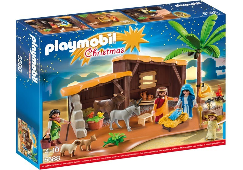 Playmobil 5588 - Nativity Stable with Manger - Box