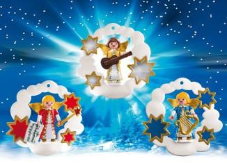 Playmobil - 5591 - Christmas Angel Ornaments Set