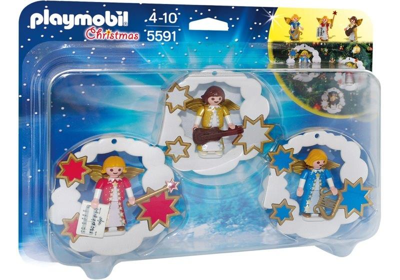 Playmobil 5591 - Christmas Angel Ornaments Set - Box