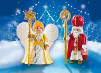 Playmobil - 5592 - St. Nicholas & Christmas Angel
