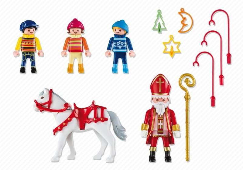 Playmobil 5593 - Christmas Parade - Back