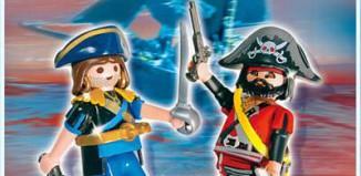 Playmobil - 5814-ger - pirate and corsair blister