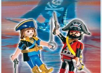 Playmobil - 5814-ger - pirate and corsair blister