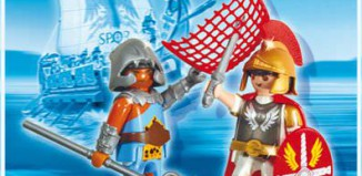 Playmobil - 5817 - Duo Pack Tribun and Gladiator