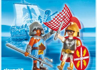 Playmobil - 5817 - Duo Pack Tribun and Gladiator