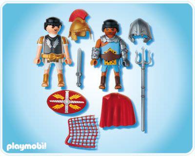 Playmobil 5817 - Duo Pack Tribun and Gladiator - Back