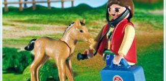 Playmobil - 5820 - Tierärztin und Fohlen