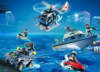 Playmobil - 5844-usa - Mega Police Set